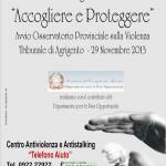 Osservatorio Provinciale sulla Violenza e sullo Talking